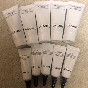 Chanel serum and eye bundle